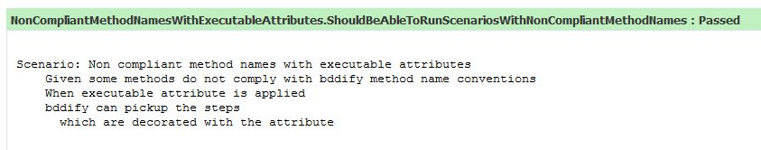 Executable attribute